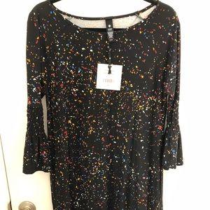 Agnes and Dora Walker Dress NWT Sprinkles Print